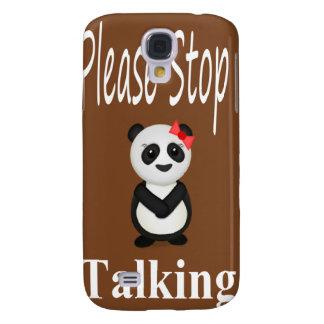 Stop Talking Panda Galaxy S4 Covers