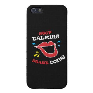 Stop talking Start doing iPhone 5/5S Case