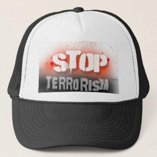 Stop terrorism, hat, for sale ! trucker hat