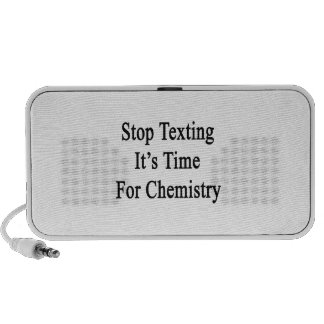 Stop Texting It's Time For Chemistry Notebook Speakers