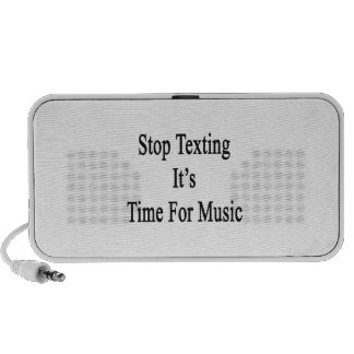 Stop Texting It's Time For Music Laptop Speaker
