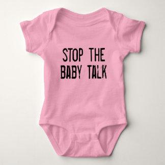 Stop the Baby Talk Baby Bodysuit