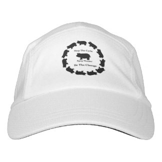 Stop The Cycle, Be The Change, Mini Pig Hat, Hat