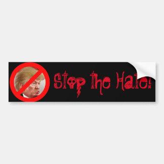"""Stop the Hate!"" Bumper Sticker"