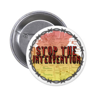 Stop the Intervention Pinback Button