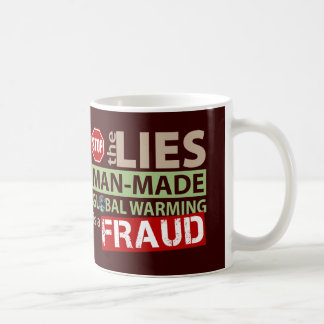 Stop the Lies about Global Warming Classic White Coffee Mug