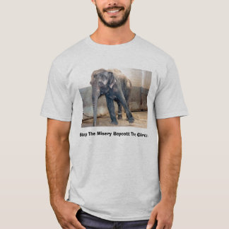 Stop The Misery Boycott The Circus T-Shirt
