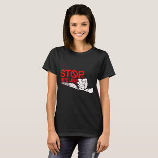 Stop The Pipeline Logo T-Shirt