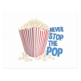 Stop The Pop Postcard