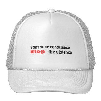 Stop the violence hats