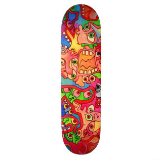 Stop the world, I want to get off! 18.1 Cm Old School Skateboard Deck