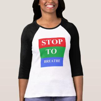 Stop-To-Breathe Women's Bella Raglan T-Shirt