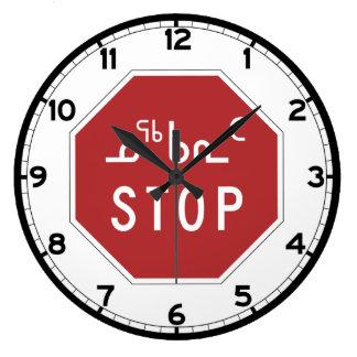 Stop, Traffic Sign, Canada Wallclocks