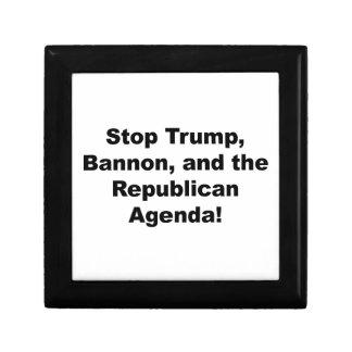 Stop Trump, Bannon and the Republican Agenda Gift Box