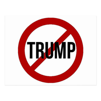 Stop Trump Postcard