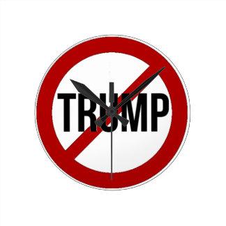 Stop Trump Round Clock