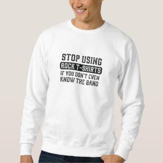Stop Using Rock T-Shirts