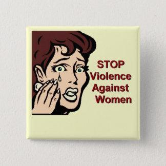 Stop Violence Against Women Button
