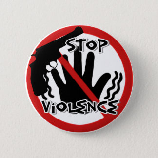 Stop Violence_Button 6 Cm Round Badge