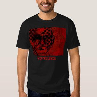 Stop violence! t-shirts