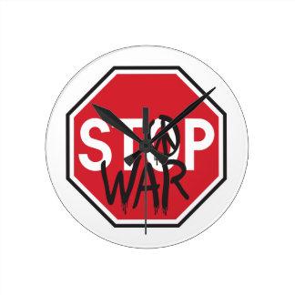Stop War Wall Clock