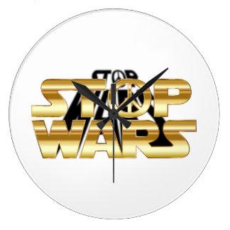 Stop Wars Clock