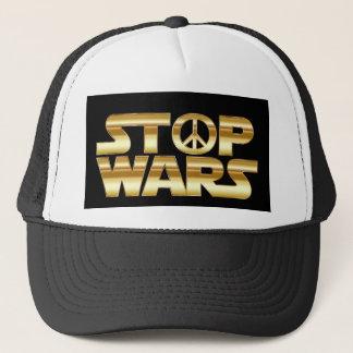 Stop wars, hat, for sale ! trucker hat