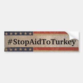 #StopAidToTurkey Bumper Sticker