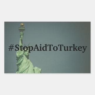#StopAidToTurkey Sticker