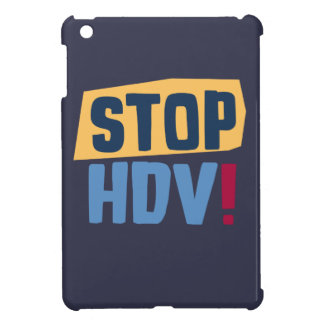 StopHDV iPad Mini Case