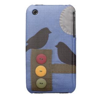 Stoplight Birds iPhone 3 Case-Mate Case