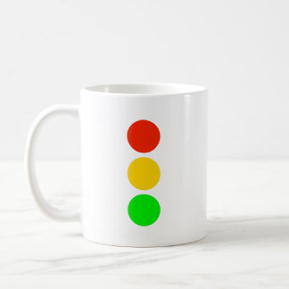 Stoplight Colors Coffee Mug