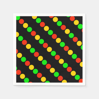 Stoplight Colors Disposable Napkins
