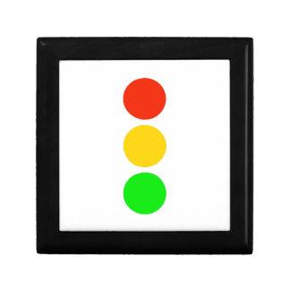 Stoplight Colors Gift Box