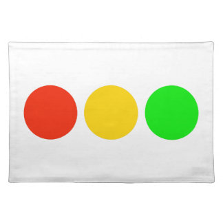 Stoplight Colors Placemat