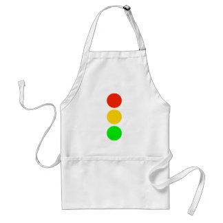 Stoplight Colors Standard Apron