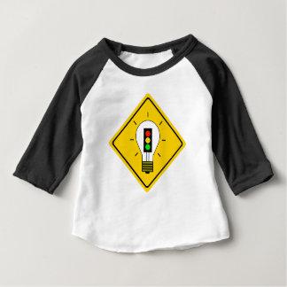 Stoplight Lightbulb Ahead Baby T-Shirt