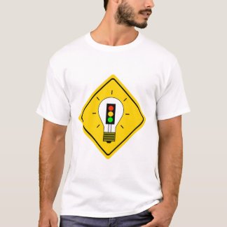 Stoplight Lightbulb Ahead T-Shirt