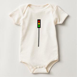 Stoplight on Pole Baby Bodysuit