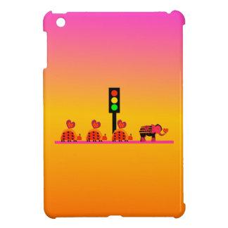 Stoplight with Heart Caravan, Dreamy Background iPad Mini Cover