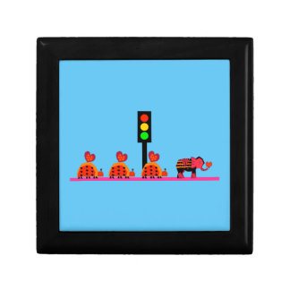 Stoplight with Heart Caravan Gift Box