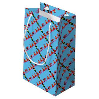 Stoplight with Heart Caravan Small Gift Bag