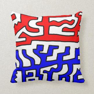 Stopp 631 Art Throw Pillow