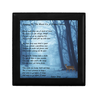Stopping By The Woods by: Robert Frost Gift Box