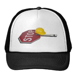 StopSignPoleConstructionHat051913.png Mesh Hat