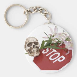 StopSignSafety051409 Key Ring