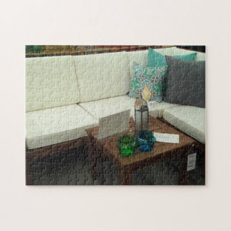 Store Couches Jigsaw Jigsaw Puzzle