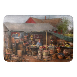 Store - Fruit - Grand dad's fruit stand 1939 Bath Mat
