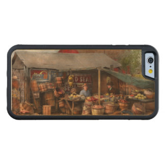 Store - Fruit - Grand dad's fruit stand 1939 Carved Maple iPhone 6 Bumper Case