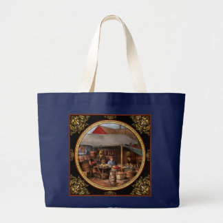 Store - Fruit - Grand dad's fruit stand 1939 Large Tote Bag